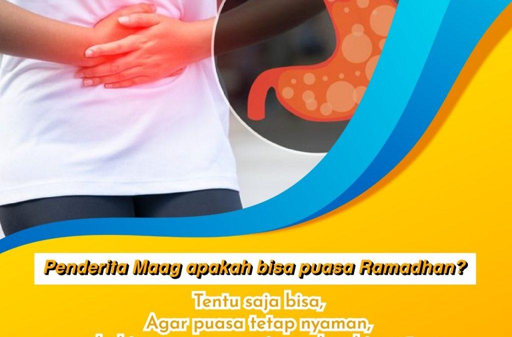 Penderita Maag Apakah Bisa Puasa Ramadhan?